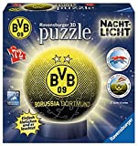 Ravensburger Erwachsenenpuzzle 11803 Ravensburger Borussia Dortmund, Puzzleball Nachtlicht