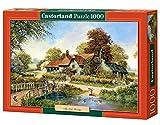 Castorland C-102860-2 - The Old Bridge, 1000-teilig, Klassische Puzzle