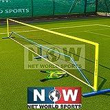 Fußballtennisnetz – [erhältlich in 3m, 6m oder 9m] – ideal für Freizeit oder Training - [Net World Sports] (3m)