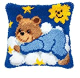 Vervaco PN-0014186 Knüpfkissen 3620 Teddy