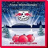 Premium Schoko-Adventskalender - Der lustige Weihnachts-Countdown aus Fairtrade-Kakao (200 g) (RasenBallsport Leipzig)
