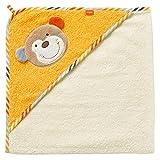 Fehn 081503 Kapuzenbadetuch Koala/Bade-Poncho aus Baumwolle mit Koala Motiv für Babys und Kleinkinder ab 0+ Monaten/Maße: 80x80cm