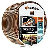 GARDENA Premium SuperFLEX Schlauch 13mm (1/2'), 50 m: Gartenschlauch mit Power-Grip-Profil, 35 bar Berstdruck, hochflexibel, formstabil, UV-beständig (18099-20)