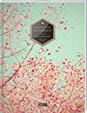 TULPE Liniertes Notizbuch A4 'C032 Frühlingstraum' (140+ Seiten, Vintage Softcover, Doppelrand, Seitenzahlen, Register - Dickes Notizheft, Deutschheft, Schreibheft, Schulheft, Tagebuch, Lineatur 27)