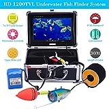 KKMOON 30M HD 1200TVL Unterwasser Wasserdicht Kamera mit 7in LCD Monitor für Ice/Meer/Fluss Angeln