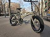 MONSTER 20 - Das Elektro-Faltrad - The Folding Electric Bike - Räder 20' - Motor 500W, 48V-12ah - Bordcomputer LCD mit 9 Hilfe - Rahmen aus Aluminium - Auf Schnee oder Sand Rollen (CAMO)