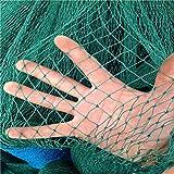 Mitefu Mehrzweck PE Pflanzen Spalier Netz Schwerlast Garten Netting Geflügel Zuchtnetz Anti-Vogel-Tennisplatz-Netz,6 Stränge,Netting Größe:W1.5xL18m,Maschenweite:3x3cm