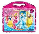 Clementoni 41181.8 - Baby Würfelpuzzle Princess, 12-er Pack