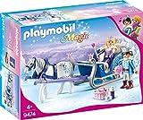 PLAYMOBIL 9474 Spielzeug-Schlitten mit Königspaar, Unisex-Kinder