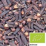 250g Bio Nelken ganz - Aromatische Gewürznelken aus kontrolliert biologischem Anbau ohne Zusätze