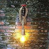 Hines Creative Wandleuchte Verstellbar Retro Industrie Eisen Rohr groß Seil Wand Lampe E27 Licht Korridor Licht Küche Licht Barn Lager Bar Korridor Beleuchtung Vorrichtungen