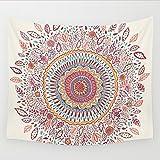 Goldbeing indischer Wandteppich Wandbehang Mandala Tuch Wandtuch Gobelin Tapestry Goa Indien Hippie-/ Boho Stil als Dekotuch /Tagesdecke indisch orientalisch psychedelic (150 x 130cm, Style 3)