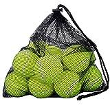 OMORC Tennisbälle,12er Pack mit Mesh-Tragetasche, robust und langlebig, ideal für Unterricht, Praxis, Wurfmaschinen & Spielen mit Haustieren