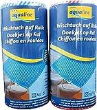 aqualine 9006-03040 Wischtuch-Rolle, 20 x 40 cm, 50 Stück