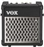 VOX Mini5 Rhythm Gitarrencombo, 1x6,5', 5W, Amp/FX Modeling, schwarz, Batteriebetrieb, integriertes Stimmgerät, 99 Rhythmen