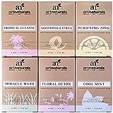 ArtNaturals Tropische Pflege Seifen Kollektion - (6 x 4 Oz / 113g) - mit Jojobaöl und Ätherischen Ölen - Aromatherapie