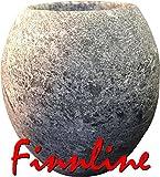 Finnline I Das Sauna-Ei aus Speckstein I Kleiner Tiegel um ihn zwischen die Saunasteine zu stellen I Saunabrunnen I Entspannt die Sinne I Original nur Weigand Wellness und Versand durch Amazon