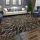 Designer-Teppich Nordic Modern Simplicity Abstrakt Persönlichkeit Geometrie Teppich Wohnzimmer Couchtisch Schlafsofa Nachttisch Teppich mit 5 Farben und 5 Größen ( Farbe : A , größe : 180*180CM )