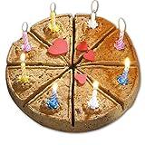 Die Festtagstorte für den Hund Diese Geburststagstorte ist natürlich knusprig-hart gebacken in 8 Stücke teilbar der Hundekuchen Der gesunde Festtagskuchen Geburtstagkuchen Hunde