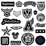 DIY Aufnaeher Aufbuegler Kleidung Patch Sticker Applikation 20 Stk/Set