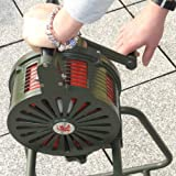Sirene manuell Handsirene - 120 dB - ALU - Alarm THW Feuerwehr Militär GRÜN