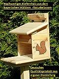 Arbrikadrex Eichhörnchenfutterhaus Eichhörnchen Haus Kobel zum aufhängen und Stellen
