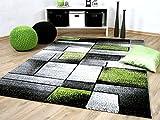 Designer Teppich Brilliant Grau Grün Fantasy in 5 Größen