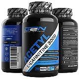 Acetyl L-Carnitin 3000 - 250 Tabletten - 3000 mg pro Tagesportion - Extra Stark - 100% Acetyl L-Carnitine - Stärkste L-Carnitine Form - Vegan - Premium Qualität - German Elite Nutrition