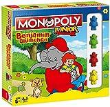 Monopoly Junior Benjamin Blümchen Edition - Das Brettspiel für Kinder