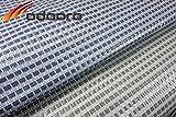 Zeltteppich ´´´odooro DURATEX 3,0m x 6m blau-grau *** 500 g/m² Outdoor Teppich Vorzelt Teppich Garten Spieldecke