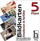 Bildkarten 5 -Maxi- Emotionen & Gefühle - (Fotokarten in Postkartengröße / etwas schmaler) - ideal in der Biografiearbeit, Sprachförderung, Pädagogik, Therapie, Altenpflege, Geriatrie und Heimbetreuung