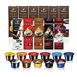 Tchibo Probierbox Cafissimo Kapseln in 11 verschiedenen Kaffeesorten, 110 Stück