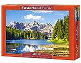 Castorland C-300198-2 - Misurina Lake, Italy, 3000-teilig, Klassische Puzzle