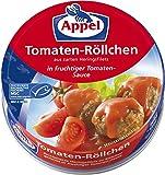 Appel Tomaten-Röllchen, aus zerkleinerten Heringsfilets in fruchtiger Tomaten-Sauce, MSC zertifiziert, 12er Pack (12 x 200 g)