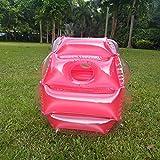 60cm aufblasbare Blasen-Puffer-Bälle-Zusammenstoßkörper-Stoßkugel-lustige Tätigkeit im Freien laufendes Spiel für Kinder Erwachsene - Rot