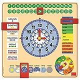 Jumbo D51309 - Kalender-Uhr