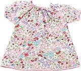 Götz 3402443 Mille Fleur Nachthemd - Puppenkleidung für Babypuppen Gr. M von 42 - 46 cm und Stehpuppen Gr. XL von 45 - 50 cm