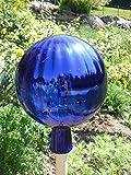 Gartenkugel (R20) Rosenkugel Gartenkugeln Rosenkugeln Glas 25 cm groß (Rosenstab Gartenstecker seperat im Shop erhältlich)