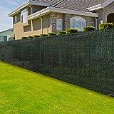 casa pura Zaunblende | Höhe: 120 cm | effektiver Sichtschutz, Windschutz, Sonnenschutz | für Garten, Balkon, Sportplatz und Gelände | in vielen Höhen und Längen (1,2m x 6m)