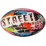 Optimum Street Rugby Ball, Schwarz, Größe 3 schwarz schwarz 5