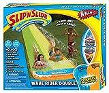 Wham-O Slip und Slide Doppel-Wasserrutschbahn mit Rutschkissen