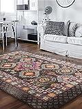 benuta Orientteppich Casa Braun 120x170 cm | Moderner Teppich für Wohn- und Schlafzimmer