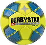 Derbystar Kinder Soft Pro Light Futsal, Gelb Blau Schwarz, 4