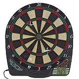 Best Sporting CHESTER elektronische Dartscheibe, Dardboard mit LCD-Anzeige, 6 Dartpfeilen und Ersatzspitzen, Dartautomat mit Netzadapter (Chester 2)