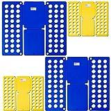 TecTake 2er Set Wäsche Faltbrett Wäschefalter für Wäsche - Diverse Mengen - (2 Set | Nr. 401821)