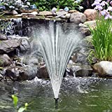 Solarpumpe Teichpumpe Brunnen Fontäne Gartenteich Pumpe Springbrunnen Teich Wasserspiel