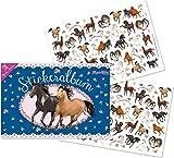 TapirElla Stickeralbum, Pferde
