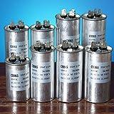 Bluelover 15-50Uf Motor Kondensator Cbb65 450Vac Klimaanlage Kompressor Start Kondensator -E