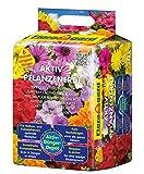 Floragard Aktiv-Pflanzenerde 20 L • Premium-Blumenerde für Balkon- und Kübelpflanzen • zum Pflanzen und Topfen • 6-Monate-Langzeitdünger • mit dem Naturdünger Guano