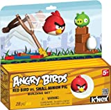 K 'NEX Angry Birds rot Vogel vs klein Minion Pig Building Set